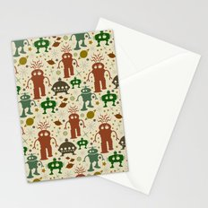 Robot Invasion! Stationery Cards