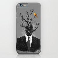 brave little bird iPhone 6 Slim Case