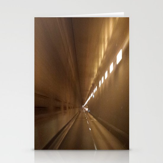 Tunnel vision Stationery Card