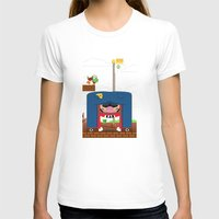 mario T-shirts featuring Mario by Ryan Miller