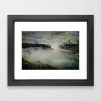 Niagara Falls New York  Framed Art Print