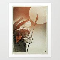 Fallen: I. Art Print
