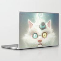 lady Laptop & iPad Skins featuring Release the Odd Kitty!!! by Dr. Lukas Brezak