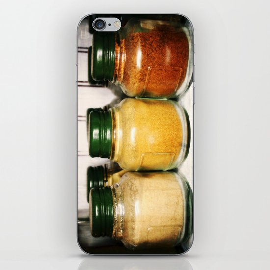 Spices iPhone & iPod Skin