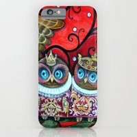 Baby owls iPhone 6 Slim Case