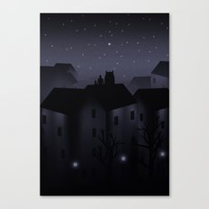 Northern Star Canvas Print