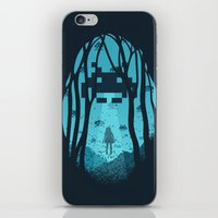 8 Bit Invasion iPhone & iPod Skin