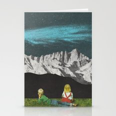 Comet Streams Stationery Cards