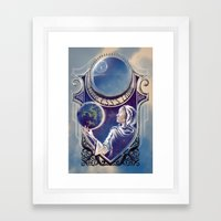 A Princess's Lament Framed Art Print
