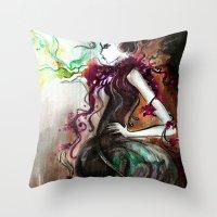 Phoenix 1 Throw Pillow