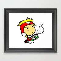 Santakun Framed Art Print