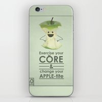 Apple-tite iPhone & iPod Skin