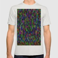 Wild Pattern 99 Mens Fitted Tee Silver SMALL