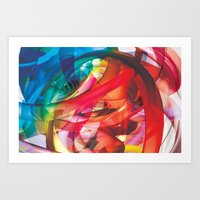 Clusters on mind #1 Art Print