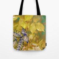 leaves evolved 1 Tote Bag