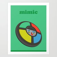 The Mimic Art Print
