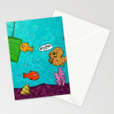 Admiral Ackbar It's a Trap art by RonkyTonk Stationery Cards