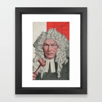 Dragon Court Framed Art Print