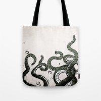 Octopus Tentacles Tote Bag