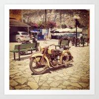 Motorcycle Art Print