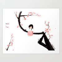 Gentle Blossom Art Print