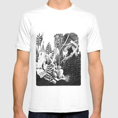 Baba Yaga Mens Fitted Tee White SMALL