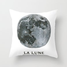 La Lune Throw Pillow