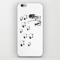 Shepherdess iPhone & iPod Skin