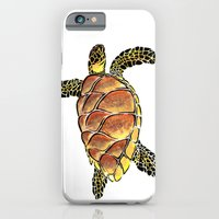 iPhone & iPod Case featuring hawksbill by the art of dang
