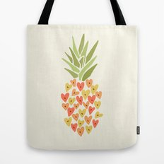 My Pineapple Valentine Tote Bag