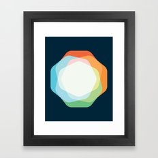 Cacho Shapes XXI Framed Art Print