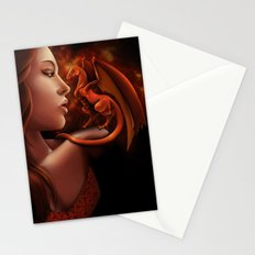 Fire Lily Stationery Cards