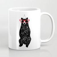 Mr. Hipster Bear  Mug