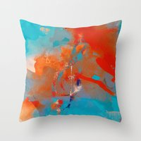 ANALOG Zine - Treble Cle… Throw Pillow