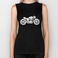 Triumph Bonneville - Caf… Biker Tank