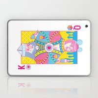 King Of Nothing, Queen O… Laptop & iPad Skin