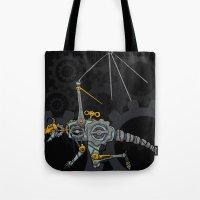 Clockwork Dragon Tote Bag