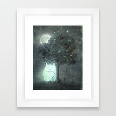 Full Moon Spirit  Framed Art Print