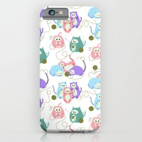 iPhone & iPod Case featuring 3 Little Kittens by virginia odien