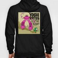 Yoshi Battles The Pink Robots Hoody