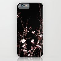 Winter night flowers iPhone 6 Slim Case