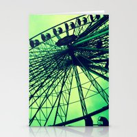 Big wheel [Vienna] Stationery Cards