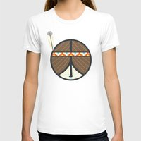 peace T-shirts featuring Peace by Wharton
