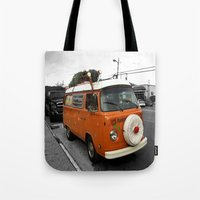 The Holiday Bus Tote Bag
