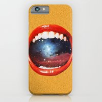 iPhone Cases featuring Taste Bud Regrowth by Eugenia Loli
