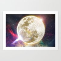 Lunar Disturbance  Art Print