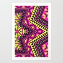 Indian Drugs Pattern Art Print
