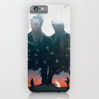 iPhone & iPod Case featuring True Detective - The Long Bright Dark by zsutti