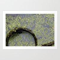 pond(er)ing Art Print