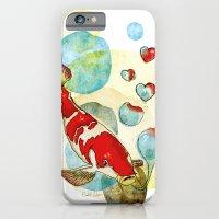 Koi Fish In Love iPhone 6 Slim Case